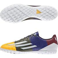 Adidas F10 Messi Astroturf Trainers Orange