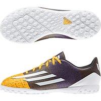 Adidas F10 Messi Astroturf Trainers - Kids Orange
