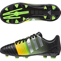 Adidas Nitrocharge 3.0 Firm Ground Football Boots - Kids Black