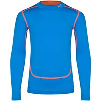 Nike Core Compression Long Sleeve Mock - Kids Royal Blue