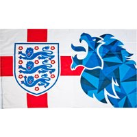 England FA Crest Lion Flags