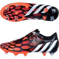 Adidas Predator LZ Soft Ground Football Boots Black