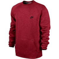 Nike Tech Fleece Crew -1mm Red