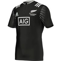 All Blacks Rugby 7s Home Shirt Black