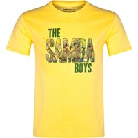 Brazil The Samba Boys T-Shirt Yellow