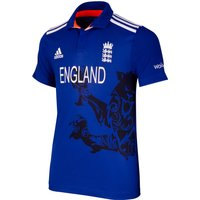 England Cricket ODI Shirt Royal Blue