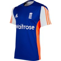 England Cricket Training T-shirt Royal Blue