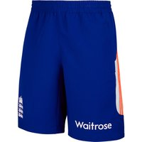 England Cricket Woven Shorts Royal Blue