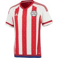 Paraguay Home Shirt 2015 White
