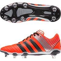 Adidas adipower Kakari Soft Ground Rugby Boots Orange