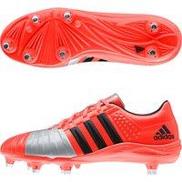 Adidas FF80 2.0 TRX II Soft Ground Rugby Boots Orange