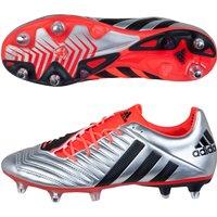 Adidas Predator Incurza Xtrx Soft Ground Rugby Boots Silver