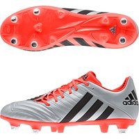 Adidas Pred Incurza Elite XTRX Soft Ground Rugby Boots Silver