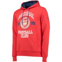 Arsenal Fan Hoody Red