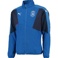 Italy Stadium Leisure Jacket Blue