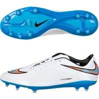 Nike Hypervenom Phatal Firm Ground Football Boots White