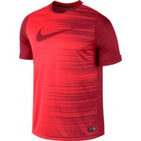 Nike GPX Short Sleeve Flash Top Red