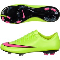 Nike Mercurial Vapor X Firm Ground Football Boots - Kids Yellow