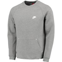 Nike Tech Fleece-1Mm Crew Sweater Dk Grey