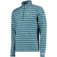 Nike Element Stripe Half Zip Top Blue