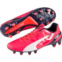 Puma evoSPEED 1.3 Firm Ground Football Boots Pink