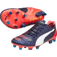 Puma evoPOWER 1.2 Mixed Soft Ground Football Boots Navy