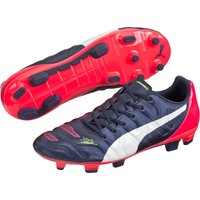 Puma evoPOWER 3.2 Firm Ground Football Boots Navy