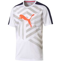 Puma evoTRG Graphic Tee White