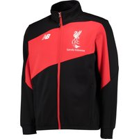 Liverpool Training Walk Out Jacket Black