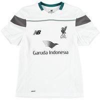 Liverpool Training Shirt - Kids White