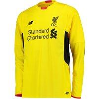 Liverpool Third Goalkeeper Shirt 2015/2016 Yellow