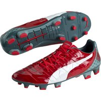 Puma Evopower 1.2 Graphic Firm Ground Football Boots Red