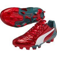Puma Evopower 4.2 Graphic Firm Ground Football Boots Red