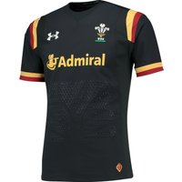 Wales Rugby Away Gameday Shirt 15/16 Charcoal
