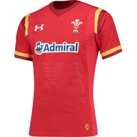 Wales Rugby Home Gameday Shirt 15/16 Red