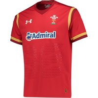 Wales Rugby Home Supporters Shirt 15/16 Red