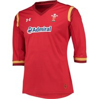 Wales Rugby Home Supporters Shirt 15/16 - Womens Red