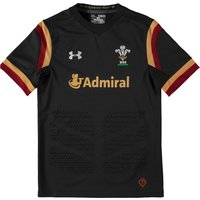 Wales Rugby Away Supporters Shirt 15/16 - Kids Charcoal