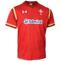 Wales Rugby Home Supporters Shirt 15/16 - Kids Red