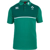 Ireland Rugby Cotton Training Polo Green