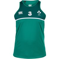 Ireland Rugby Poly Singlet Green