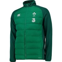 Ireland Rugby Presentation Jacket Green