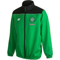 Celtic Training Presentation Jacket Green