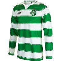Celtic Home Shirt 2015/16 - Long Sleeve - Kids White