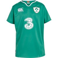 Ireland Rugby Home Pro Short Sleeve Shirt 15/16 - Kids