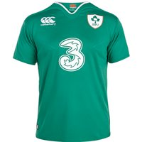 Ireland Rugby Home Pro Short Sleeve Shirt 15/16