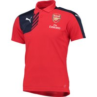 Arsenal Training Polo Red