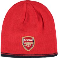 Arsenal Reversible Beanie Red