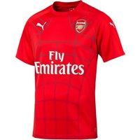 Arsenal Pre Match Stadium Top Red