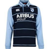 Cardiff Blues Home Classic Long Sleeve Shirt 2015/16 Navy